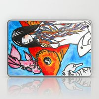 The Sea King's Daughter Laptop & iPad Skin