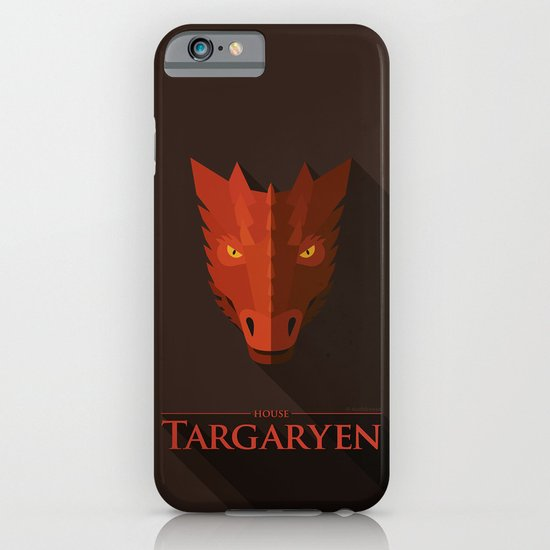 HOUSE TARGARYEN - Game of Thrones iPhone & iPod Case