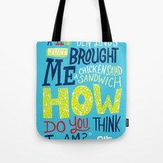 Lost: Chicken Salad Sadwich Tote Bag