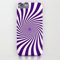 Swirl (Indigo/White) iPhone 6 Slim Case