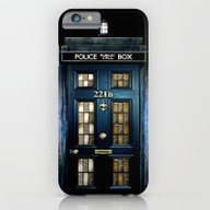Tardis Doctor Who Mashup… iPhone 6 Slim Case