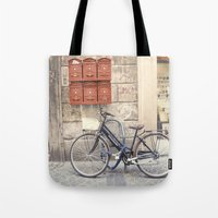 Bike Love::rome, Italy Tote Bag