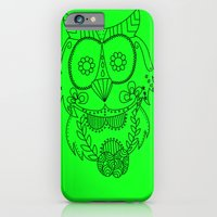 Owl of the Day iPhone 6 Slim Case
