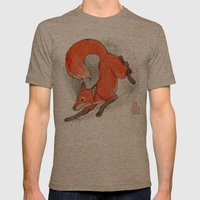 Fox Neighbor Mens Fitted Tee Tri-Coffee SMALL