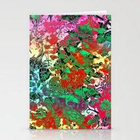 Splash Colour Decorative Motif Stationery Cards