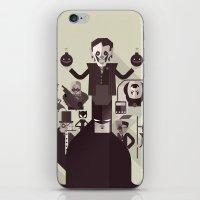 dark man fan art iPhone & iPod Skin