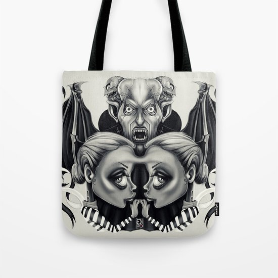 """Tattoeums VII"" Tote Bag"