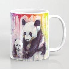 Pandas And Rainbow Water… Mug