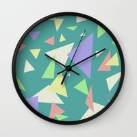 Triangl'd  Wall Clock
