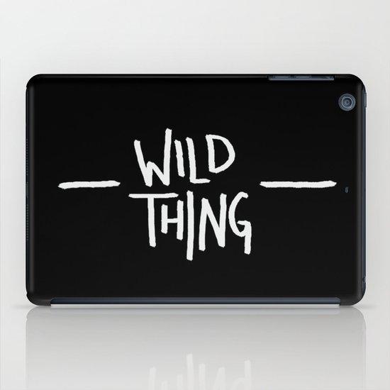 Wild Thing: Skagit Valley, Washington iPad Case