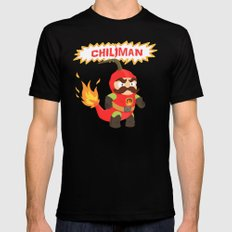 Chiliman SMALL Mens Fitted Tee Black