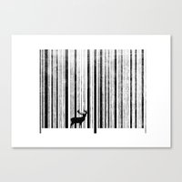To Scan A Forest. Canvas Print