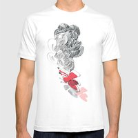 In Red Mens Fitted Tee White SMALL