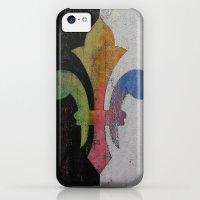 iPhone 5c Cases featuring Fleur de Lis by Michael Creese