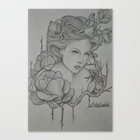 Anima Bella  Canvas Print