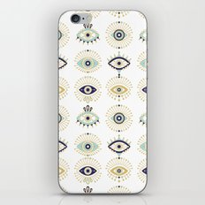 Evil Eye Collection on White iPhone & iPod Skin