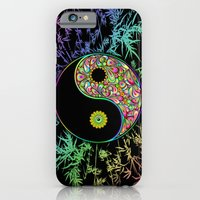 Yin Yang Bamboo Psychedelic iPhone 6 Slim Case
