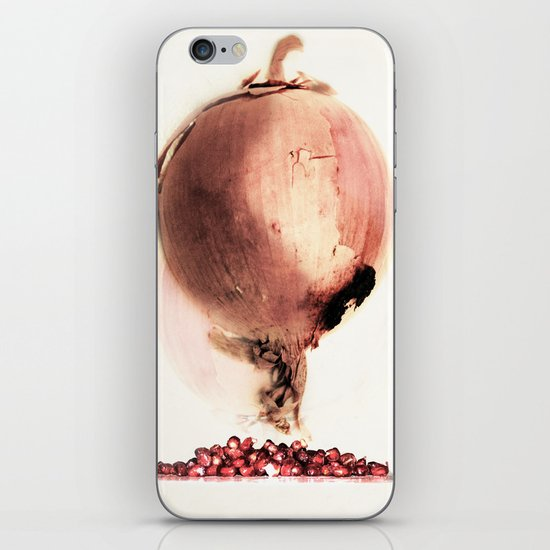 Onion story iPhone & iPod Skin