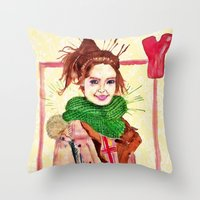 Yoona Throw Pillow
