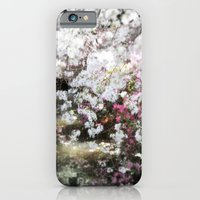 iPhone & iPod Case featuring gentle flowers, in memory of Mackenzie by Marianna Tankelevich