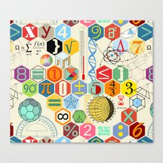 Math In Color Canvas Print
