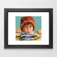 Star Soup Framed Art Print