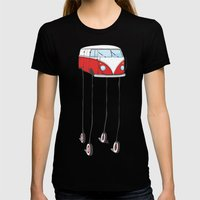 The Daliwagen Womens Fitted Tee Black SMALL