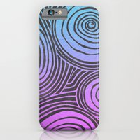 iPhone & iPod Case featuring swirled  by TomP