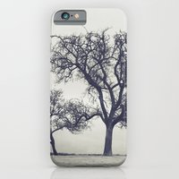 iPhone & iPod Case featuring bleak trees... by Chernobylbob