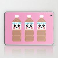 Happy Pixel Milk  Tea Laptop & iPad Skin