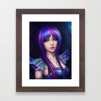 Twilight Sparkle Framed Art Print