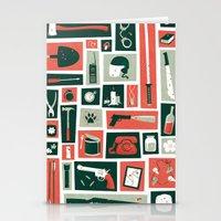 walking dead Stationery Cards featuring The walking dead by Felix Rousseau