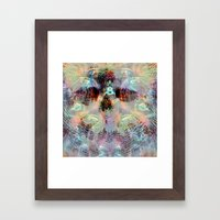 Out With a Bang Framed Art Print