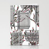 Geo Spring Stationery Cards