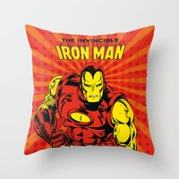 IronMan 2 Throw Pillow