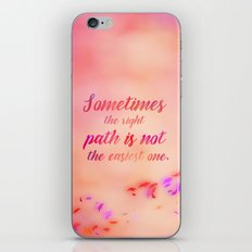 Grandmother Willow's Wise Words iPhone & iPod Skin