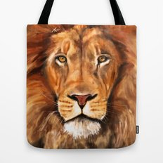 Iron Lion Tote Bag