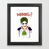 The New Joker? Framed Art Print