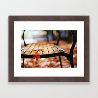 Holding On... Framed Art Print