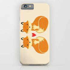 Love foxes iPhone 6 Slim Case