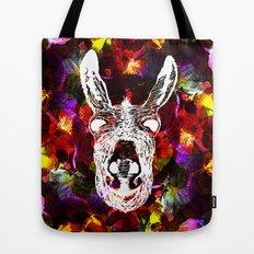 Wonky Donkey Flower  Tote Bag