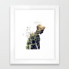Nature Of The Body Framed Art Print