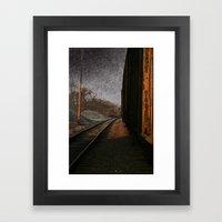 RUST. Framed Art Print