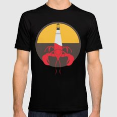 Lobster House SMALL Mens Fitted Tee Black