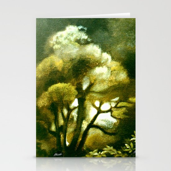 Spirit of the Tarairi Tree Stationery Card