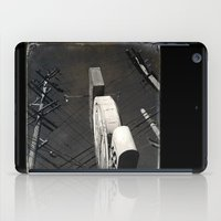 The Wizz take 2, Black and White San Francisco iPad Case