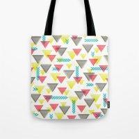 Wild Triangles Tote Bag