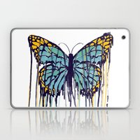Melting Monarch (collab with Matheus Lopes) Laptop & iPad Skin