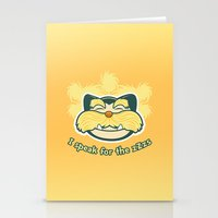 I am the Snorax Stationery Cards