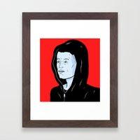 Mr Robot Framed Art Print